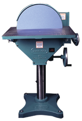 Heavy Duty Disc Sander-No Controls & NO Magnetic Starter - #20100 - 20'' Disc - 3HP; 3PH; 230V Motor