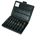 8 Pc. Cobalt Reduced Shank Drill Set