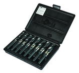 8 Pc. HSS Reduced Shank Drill Set