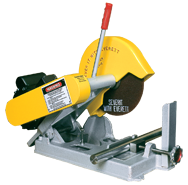 "Abrasive Cut-Off Saw - #100020110; Takes 10"" x 5/8 Hole Wheel (Not Included); 3HP; 1PH; 110V Motor"
