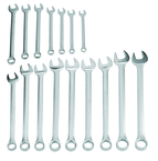 Proto® 16 Piece Satin Combination Wrench Set - 12 Point
