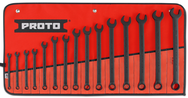 Proto® 15 Piece Black Oxide Metric Combination ASD Wrench Set - 12 Point