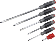 Proto® DuraTek™ 6 Piece Slotted Screwdriver Set