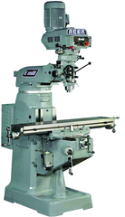 Electronic Variable Speed Vertical Mill UL - R-8 Spindle - 9 x 49'' Table Size - 3HP - 3PH - 440V Motor