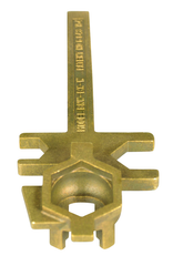 #BNWBXW - Bronze Alloy - Bung Nut Wrench
