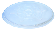#DC-TP - Clear - Drum Covers - 5 Pack