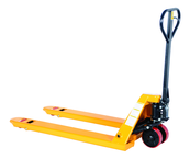 Pallet Truck - #PM52748Y - Yellow - 5500 lb Load Capacity