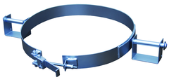 Galvanized Tilting Drum Ring - 30 Gallon - 1200 lbs Lifting Capacity