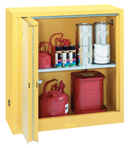Flammable Liqiuds Storage Cabinet - #5441N 43 x 18 x 44'' (2 Shelves)