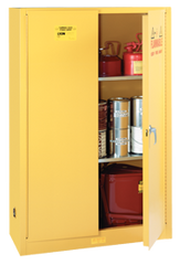 Flammable Liqiuds Storage Cabinet - #5444N 43 x 18 x 65'' (3 Shelves)