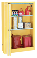 Flammable Liqiuds Storage Cabinet - #5445N 43 x 18 x 65'' (3 Shelves)