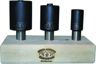 "5/8"", 1"", 1-1/4"" Hole Saw Arbor Set"