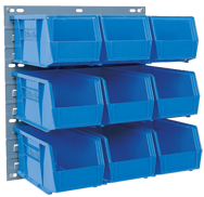 35-3/4 x 19'' - Louvered Panel for Bin Storage