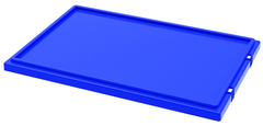 Blue Lid for use with Akro Nest-Stack Tote 35-300