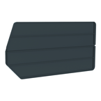 "18"" x 9"" - Black 6-Pack Bin Dividers for use with Akro Stackable Bins"