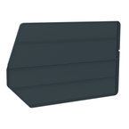 "18"" x 11"" - Black 6-Pack Bin Dividers for use with Akro Stackable Bins"