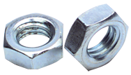 9/16-12 - Zinc / Bright - Hex Jam Nut