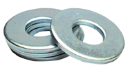 7/8 Bolt Size - Zinc Plated Carbon Steel - Flat Washer