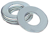 1 Bolt Size - Zinc Plated Carbon Steel - Flat Washer
