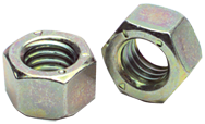 9/16-12 - Zinc / Yellow / Bright - Finished Hex Nut