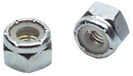 9/16-18 - Zinc / Bright - Stover Lock Nut