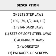 "Snap Jaws - Basic 4"" Set - Part #  4PKG-001"