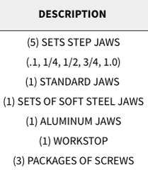 "Snap Jaws - Basic 6"" Set - Part #  6PKG-001"