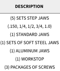 "Snap Jaws - Basic 8"" Set - Part #  8PKG-001"