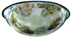 "18"" Full Dome Mirror With Plastic Back"