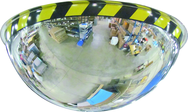 "36"" Full Dome Mirror With Safety Border"