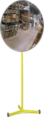 "26"" Convex Mirror With Portable Stand"