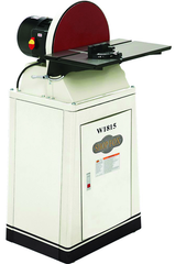 "15"" Disc Sander with Brand and Stand"