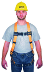Non-Stretch Harness w/Mating buckle Shoulder Straps; Tongue Buckle Leg Straps & Mating Buckle Chest Strap
