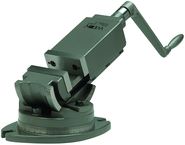 "2-Axis Precision Angular Vise 5"" Jaw Width, 1-3/4"" Jaw Depth"