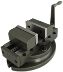 "Super Precision Self Centering Vise 4"" Jaw Width, 1-1/2"" Depth"
