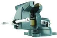 "744, 740 Series Mechanics Vise - Swivel Base, 4"" Jaw Width, 4-1/2"" Jaw Opening, 3-7/8"" Throat Depth"