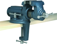 "CBV-65, Super-Junior Vise, 2-1/2"" Jaw Width, 2-1/8"" Jaw Opening, 2"" Throat Depth"