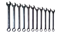 "11 Piece Supercombo Wrench Set - Black Oxide Finish SAE; 1-5/16 - 2""; Tools Only"