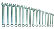 "16 Piece Supercombo Wrench Set - High Polish Chrome Finish SAE; 1-5/16 - 2-1/2""; Tools Only"