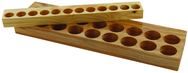 TG75 - Wood Tray - 22 Pcs.