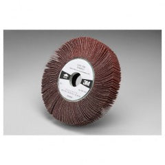 "6 x 1 x 1"" - 80 Grit - Ceramic Aluminum Oxide - Cloth Wheel 741E"