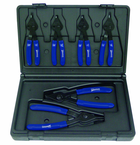 6 Piece - Combination Int/Ext Snap Ring Plier Set