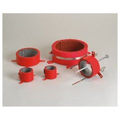 FIRE BARRIER PLASTIC PIPE DEVICE