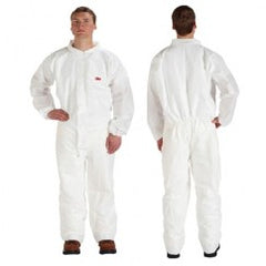 4510CS XL BLACK DISPOSABLE COVERALL