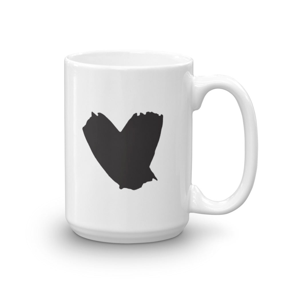 Believe in Impossible & Heart Mug
