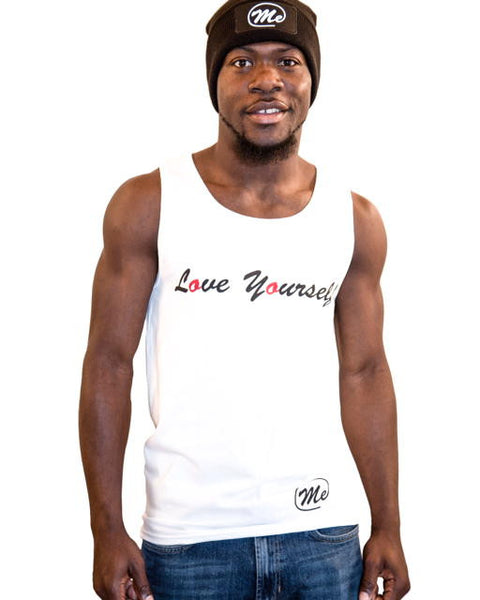 love yourself White Tank