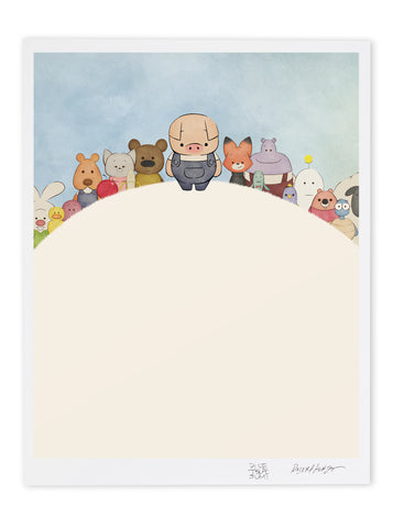 DK Poems Character Lineup Museum Print
