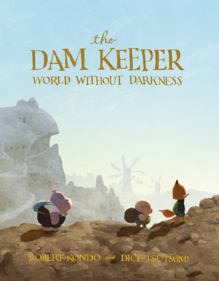 The Dam Keeper Graphic Novel (Book Two) Autographed by Dice Tsutsumi and Robert Kondo