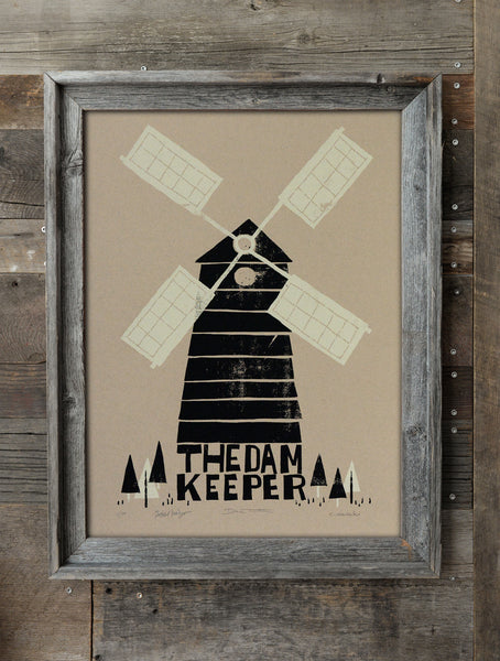 The Windmill Silkscreen Print (Craft) *