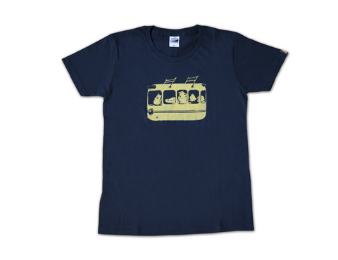 Bus T-shirt (Size Medium) *